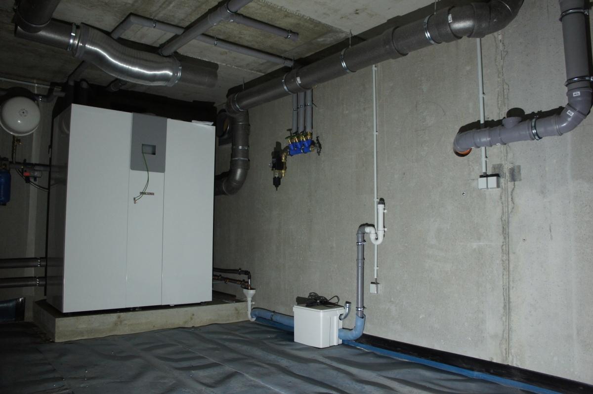 Installations- und Elektroarbeiten Takt 1abgeschlossen